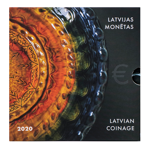 Monētu komplekts Latgales keramika 2020